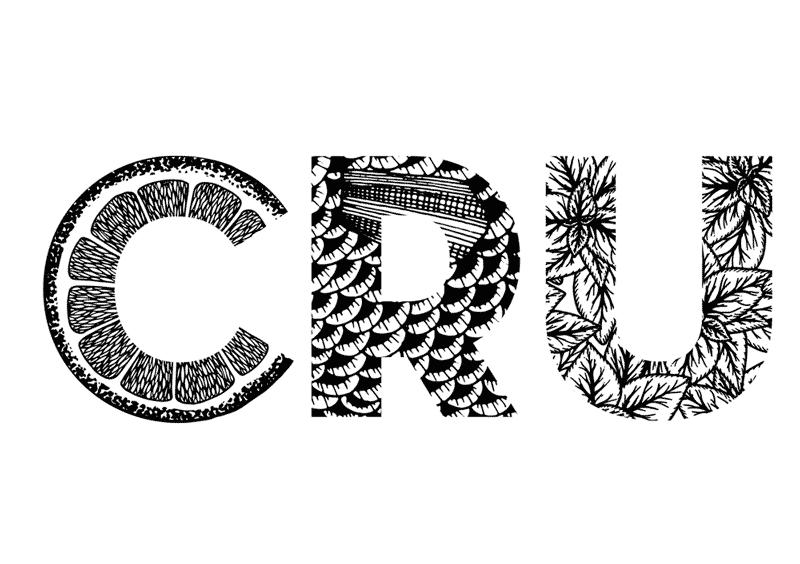 Juliette Seban – Cru restaurant – branding – logo