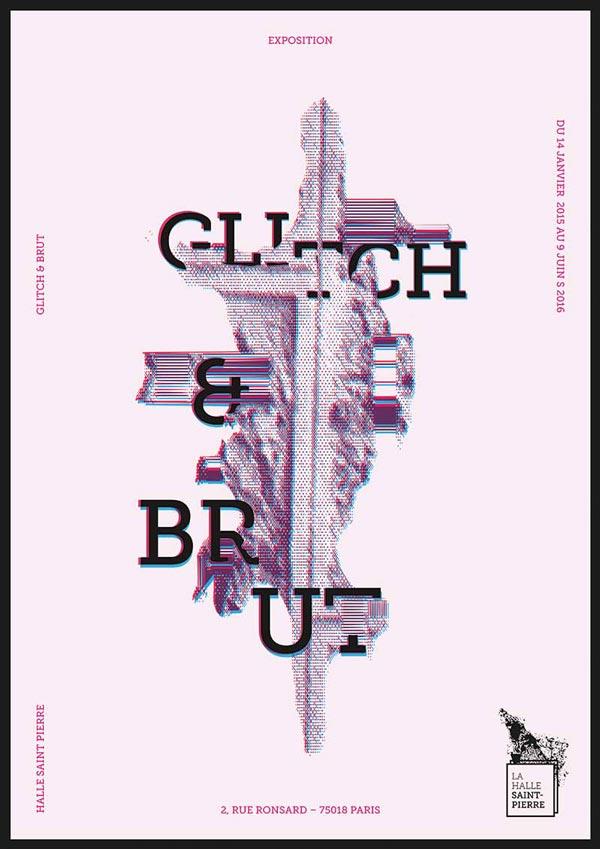 Juliette Seban – Affiche d'exposition – branding Halle Saint Pierre – poster