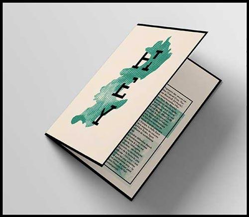 Juliette Seban – Affiche d'exposition – branding Halle Saint Pierre – programme