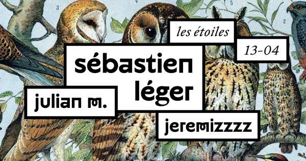 Juliette Seban – Horde Paris – Alchimya flyer chouettes