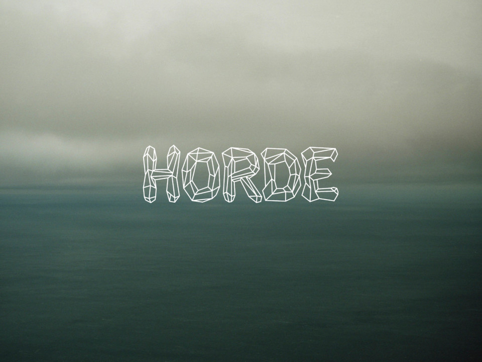 Juliette Seban – Horde logo – illustration flyer design graphique