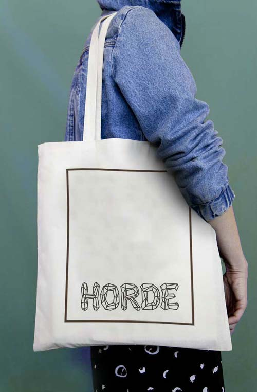 Juliette Seban – Horde - goodies - illustration flyer design graphique
