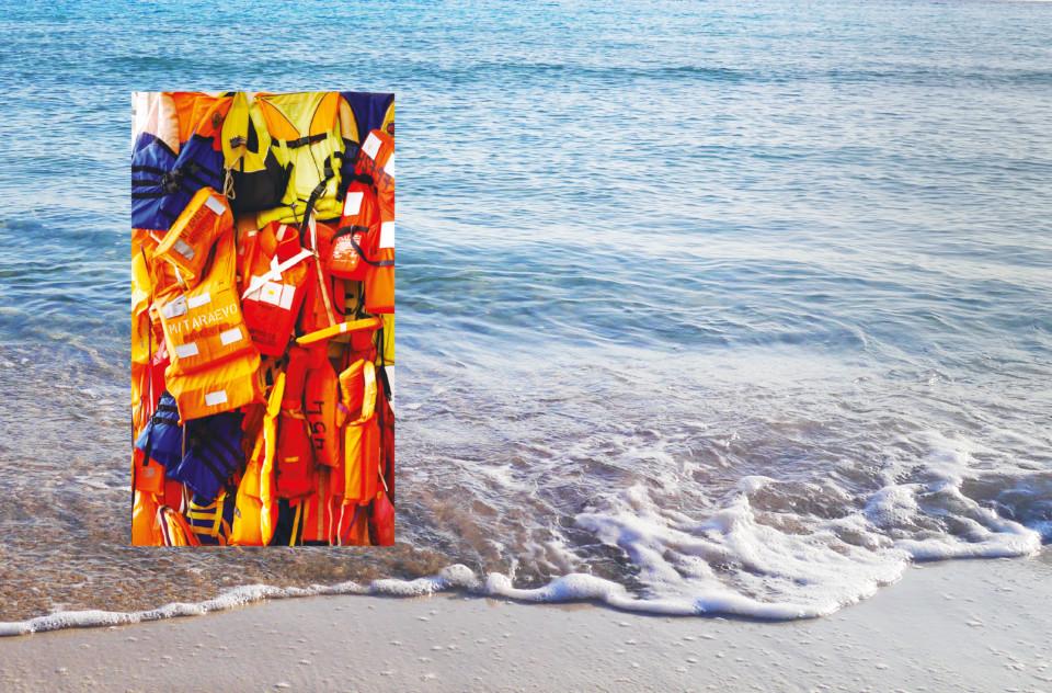 Juliette Seban – Lampedusa – Traces et mémoires retrouvées – gilets de sauvetage