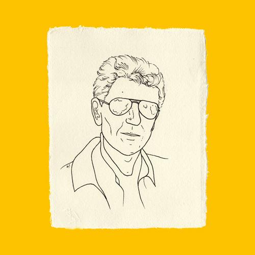 Juliette Seban – dessins au rotring – portraits Paulo