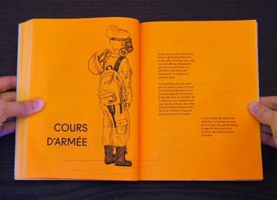 Juliette Seban – Il change sa tête et met un masque – Illustration livre des rêves – l'armée
