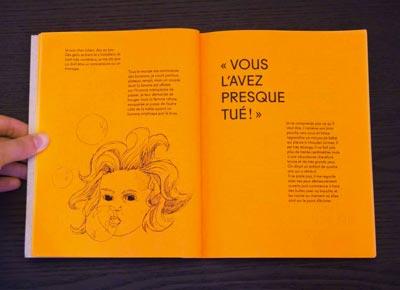 Juliette Seban – Il change sa tête et met un masque – Illustration livre des rêves – l'enfant