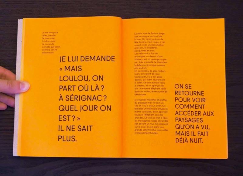 Juliette Seban – Il change sa tête et met un masque – Illustration livre des rêves – loulou