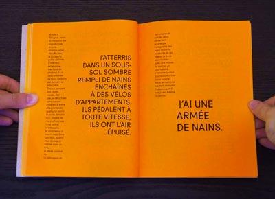 Juliette Seban – Il change sa tête et met un masque – Illustration livre des rêves – l'armée de nains
