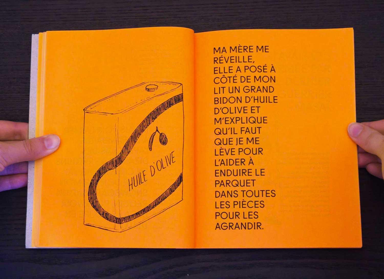 Juliette Seban – Il change sa tête et met un masque – Illustration livre des rêves – l'huile