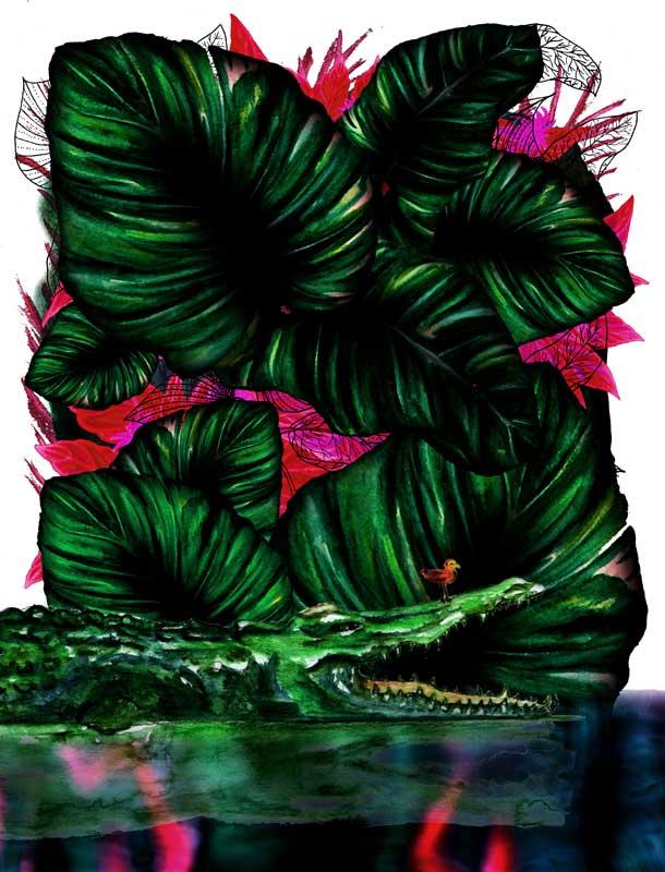 Juliette Seban – Jungles – Le croco