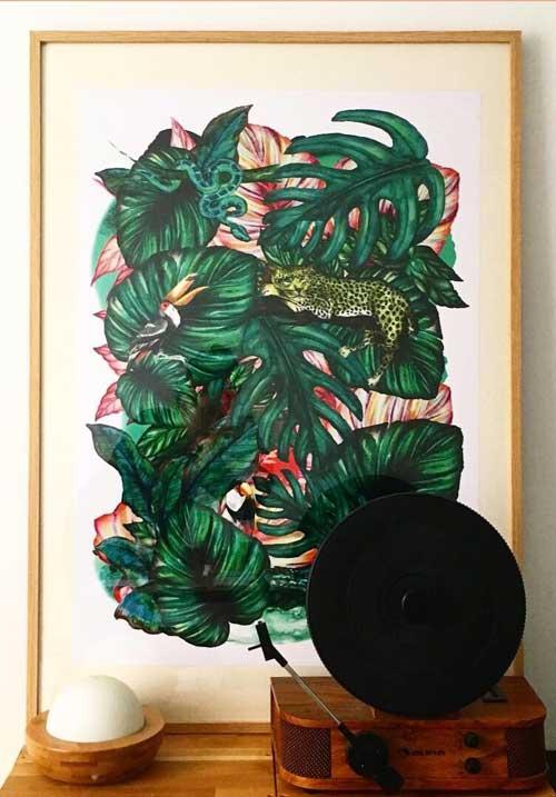 Juliette Seban – Jungles – tableau