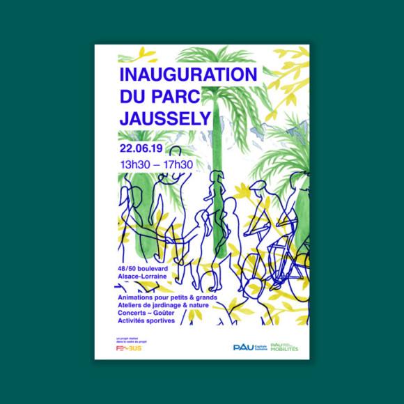 Inauguration du parc Jaussely