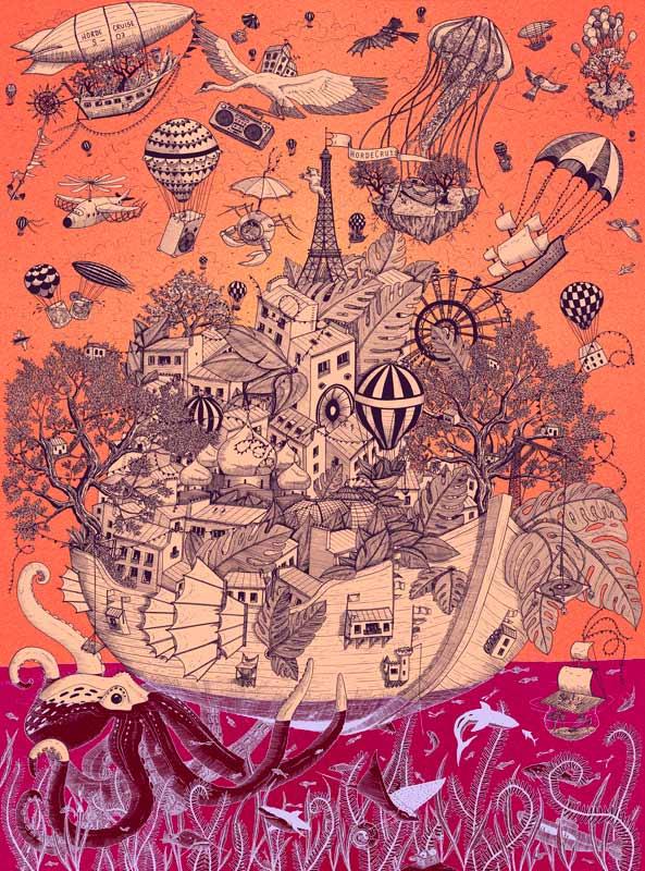 Juliette Seban – Horde Cruise S03 – Poster Affiche