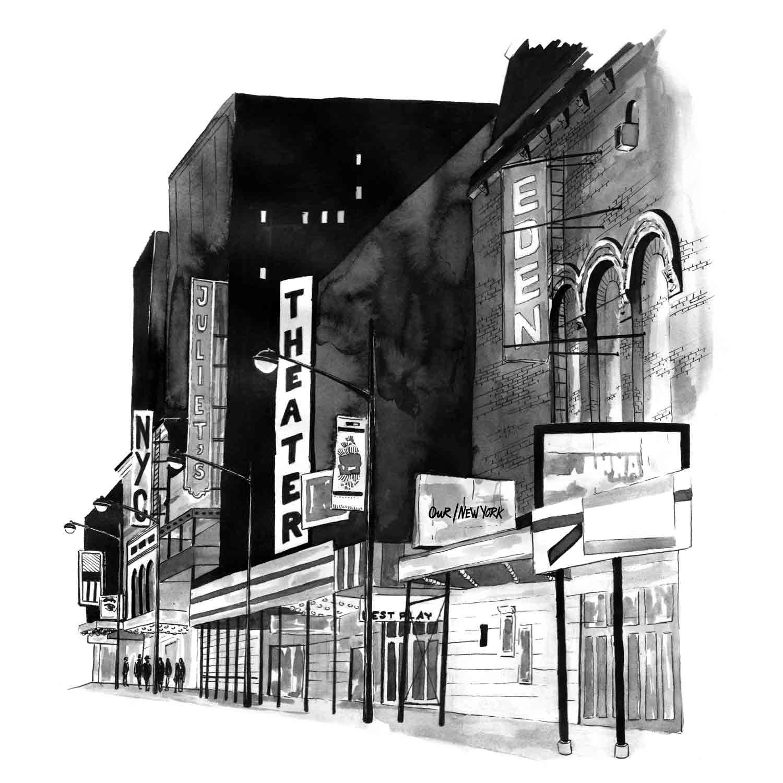 Juliette Seban – OUR/NYC – Broadway